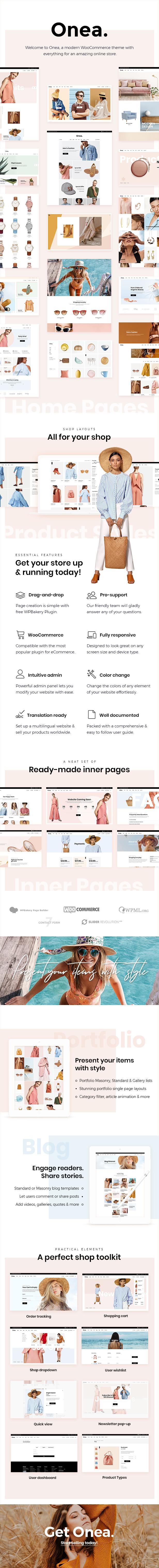 Onea - WooCommerce WordPress theme - 1